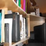 Hanging Bookshelf Detail